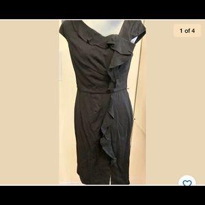 New White House Black Market Black Dress